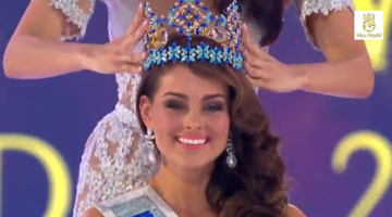 רגע ההכתרה (מתוך missworld.com)