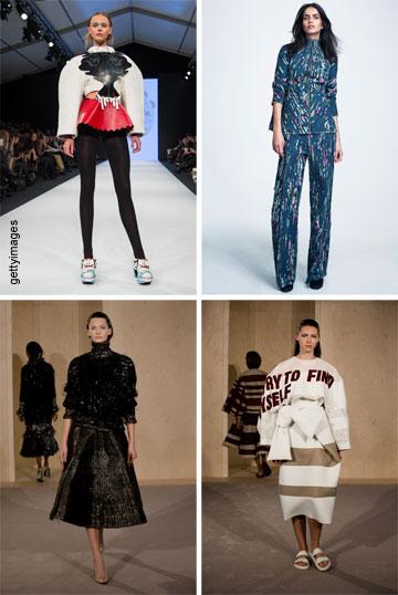 קולקציות של סטודנטים שזכו בתחרות של H&M בעבר ומועמדים לפרס שיוענק בשנת 2015