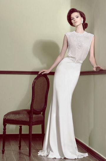 החצר הנשית. שמלות כלה של מעצבים נחשבים במחירים 3,000-1,000 שקל (צילום: איתן טל)