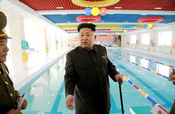 קים ג'ונג און. התספורת החדשה של צפון קוריאה (צילום: rex/asap creative)