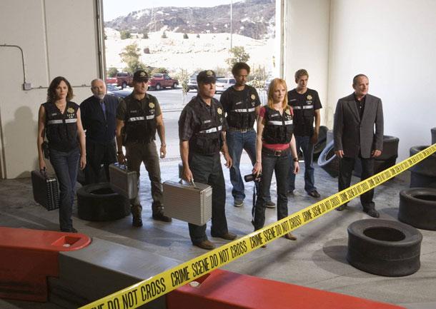 הכל בזכות התיקים. CSI