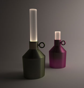 ''Candela'' של ענבל כהנר (באדיבות ''יריד צבע טרי 7'')