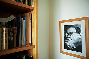 על הקיר: יסקי צעיר יותר (צילום: ניקיטה פבלוב)