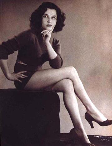 מרים ירון, מלכת היופי 1950