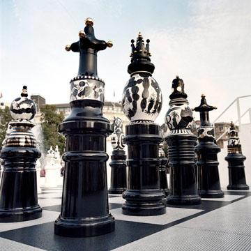 שחמט בכיכר טרפלגר (צילום: HAYON Studio)