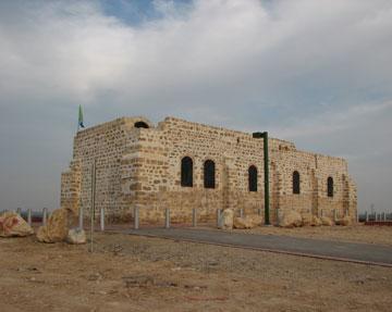 נקודת הביקורת הראשונה של השלטון העותמני בנגב. מצודת פטיש (צילום: מיכאל יעקבסון)
