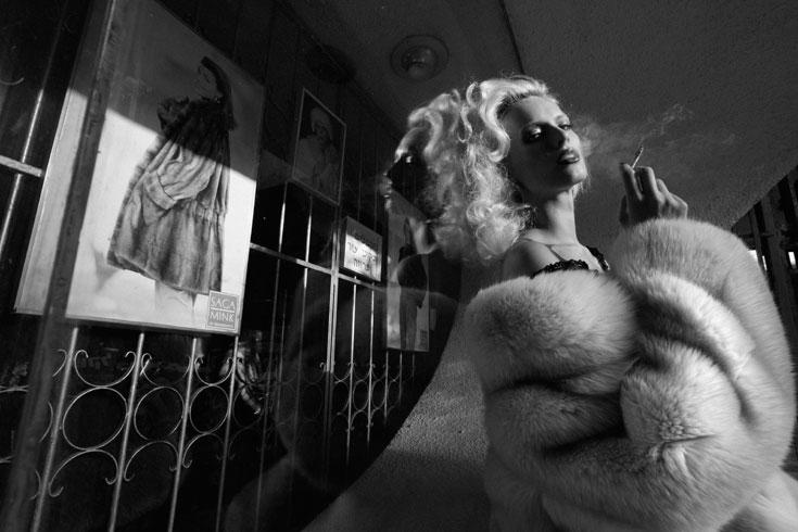 חזייה, סיפורי תחרה; מעיל וינטג', חיים קפרסקי לאלסקה  (צילום: יניב אדרי)