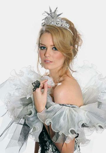 """""""להיות מלכת יופי זו חוויה דחוסה מאוד ומדהימה"""" (צילום: )"""