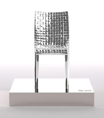 הכיסא של יושיאוקה במסגרת הפרויקט של קרטל (באדיבות kartell)