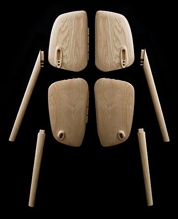 הכיסא בהכנה (באדיבות  Studio Bouroullec)