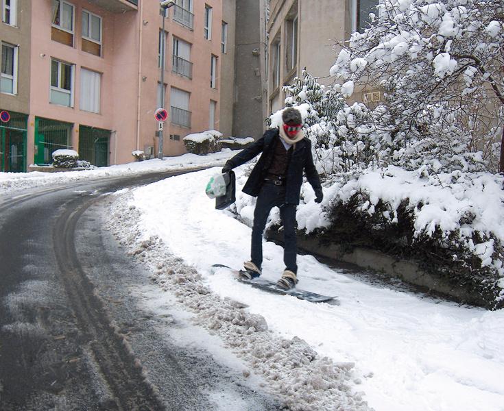 סקי בעיר. דוגמה לפרויקט שיוצג בכנס