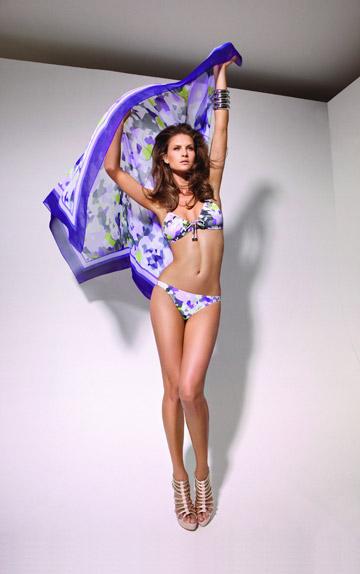 קולקציית בגדי הים של המותג גדעון אוברזון. קולקציה מסחרית עם פיתוחי טקסטיל חדשניים (צילום: יניב אדרי)