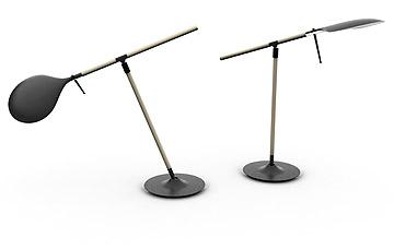 מנורות משוט בעיצוב בנג'מין הוברט. רק בן 27 (באדיבות Fabbian)