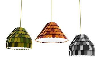 מנורות הרעפים של בנג'מין הוברט (באדיבות Fabbian)