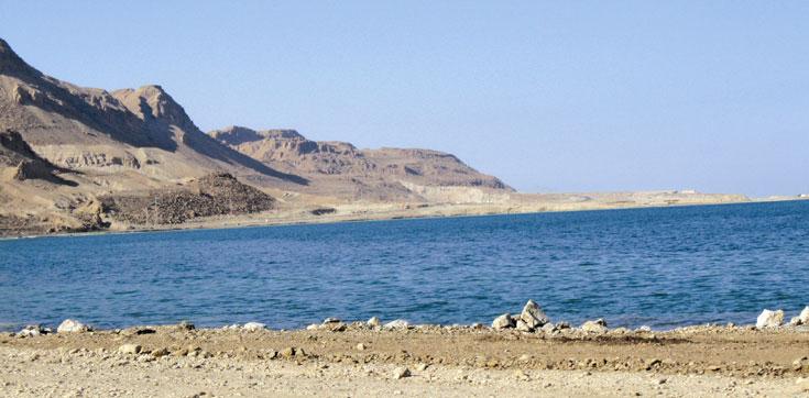 הכחול הנסוג. דרום ים המלח (צילום: אריאלה אפללו)