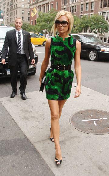 מגיעה לשבוע האופנה, 2007. המעבר לארצות הברית עשה לה טוב (צילום: Gettyimages imagebank)