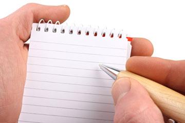 פנקס ועט. אפשר גם בלי. עדיף עם (צילום: שאטרסטוק)