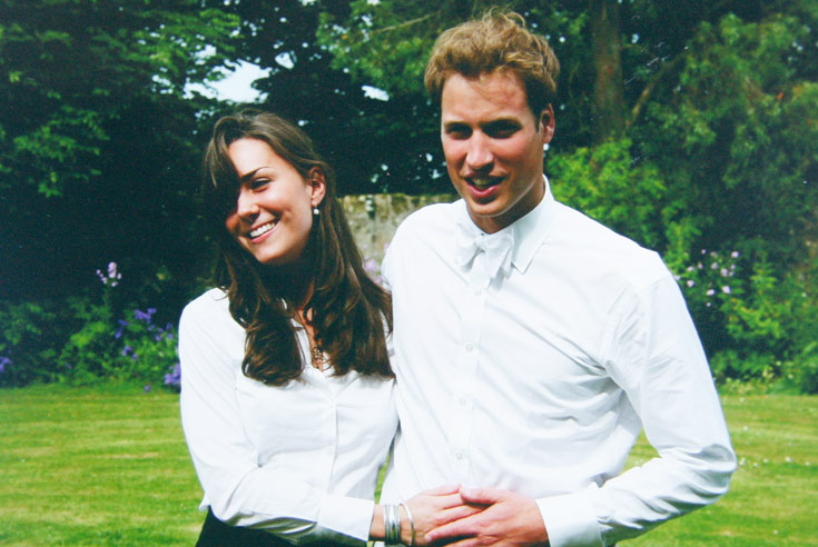 קייט מידלטון והנסיך וויליאם. הזוג המלכותי (צילום: gettyimages)