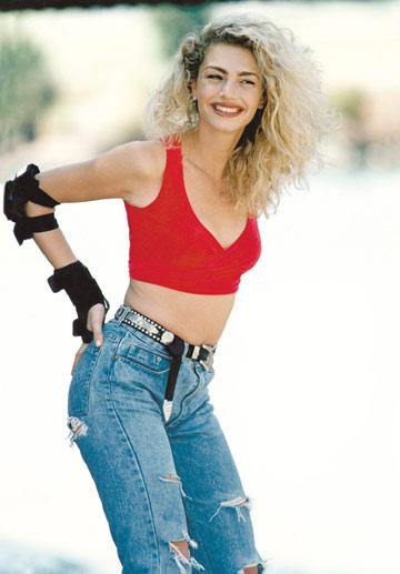 מיכאלה ברקו. אחת הדוגמניות הישראליות שהצליחו ביותר בעולם בשנות ה-80 וה-90 (צילום: שלום בר טל)