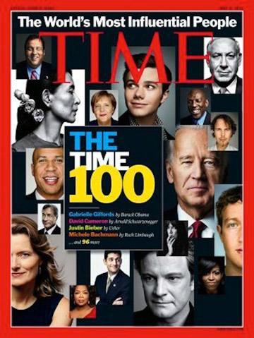 פורד ברשימת 100 האנשים המשפיעים בעולם של מגזין טיים. האישיות היחידה מתחום האופנה