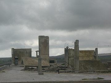 בונקר המפקדה הסורית. מרום גולן (צילום: אריאלה אפללו)