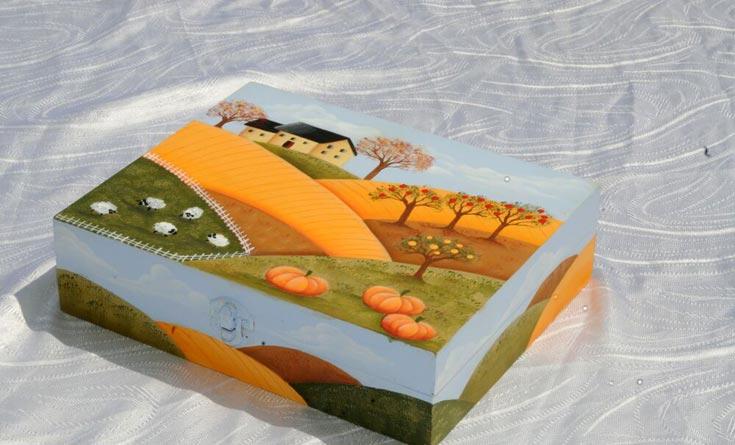 קופסה מעץ, לתה או לשוקולד,  לעצמכם או כמתנה (צילום: דלית שחם)