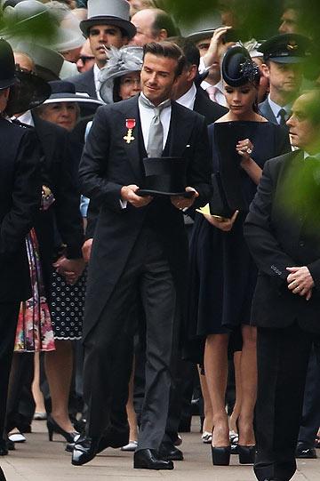 ויקטוריה ודיוויד בקהאם. כבר לא הזוג המלכותי (צילום: gettyimages)