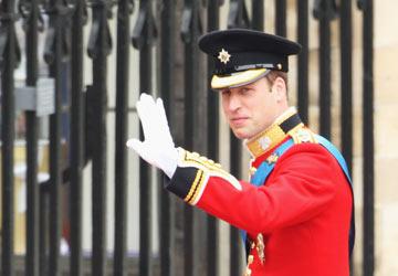 גם הוא הגיע. די צפוי, האמת. הנסיך וויליאם (צילום: gettyimages)