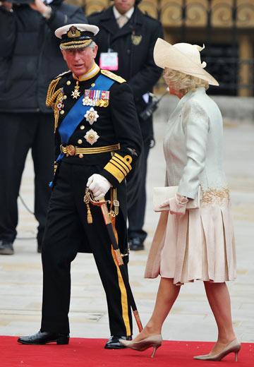 הנסיך צ'ארלס וקמילה פרקר. זוג חסר סטייל (צילום: gettyimages)