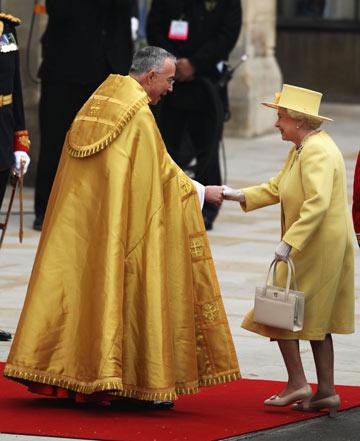 המלכה אליזבת השנייה. חמוצה בלימון (צילום: gettyimages)