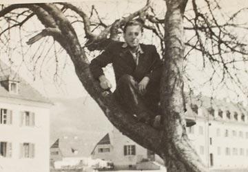 יענקל'ה ברמן בזלצבורג, 1946, אחרי השחרור מהיער