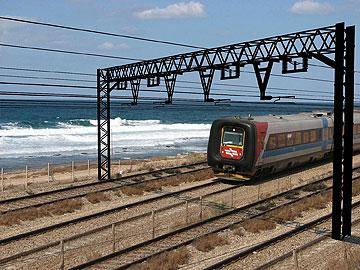 הדמיה של המסילה שתעבור בין חיפה לים (באדיבות עיריית חיפה)