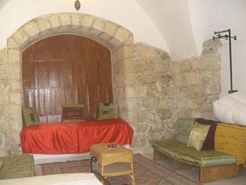 בית הארחה באווירה נעימה. אל מוטראן (צילום: אריאלה אפללו)