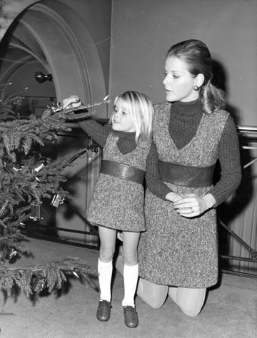 פריטי ילדים שעיצב כריסטיאן דיור, 1968. כמו תמיד, הקדים את זמנו (צילום: gettyimages)