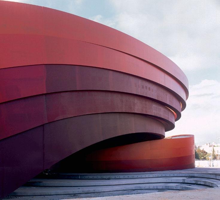 מוזיאון העיצוב חולון, בתכנונו של רון ארד (ולא, הוא לא ישראלי). מככב במגזינים אך עתיר בעיות (צילום: יעל פינקוס )