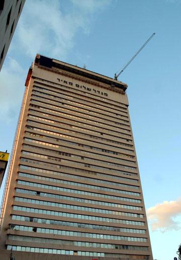 גורד השחקים הראשון כאן: מגדל שלום (צילום: ג'רמי פלדמן)