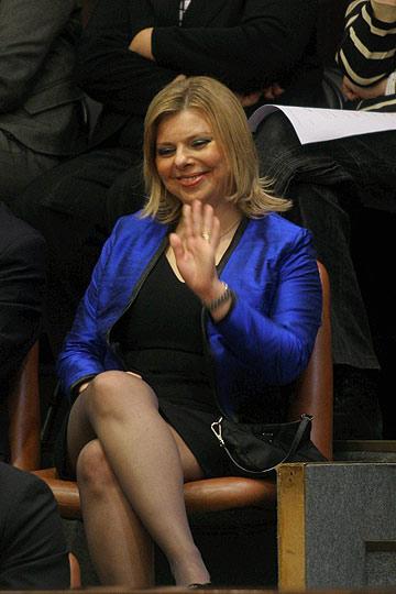 שרה נתניהו (צילום: אלכס קולומויסקי)