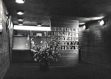 מבנה הזיכרון של קיבוץ ניצנים, אדריכל נחום זולוטוב (ארכיון נחום זולוטוב, מוזיאון ישראל ירושלים. באדיבות ארכיון אדריכלות ישראל)