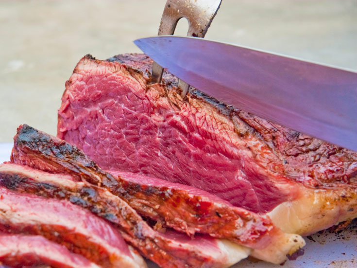 סטייק טוב מתחיל בבשר טוב - אין מה לעשות (צילום: thinkstock)