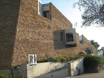 מוזיאון הפלמ''ח. גם הוא מבנה הנצחה (צילום: ori)