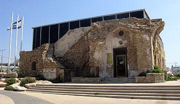 בית האצ''ל במנשיה, תל אביב. פרויקט שזיכה אותו בפרס רוקח (צילום: ORI)