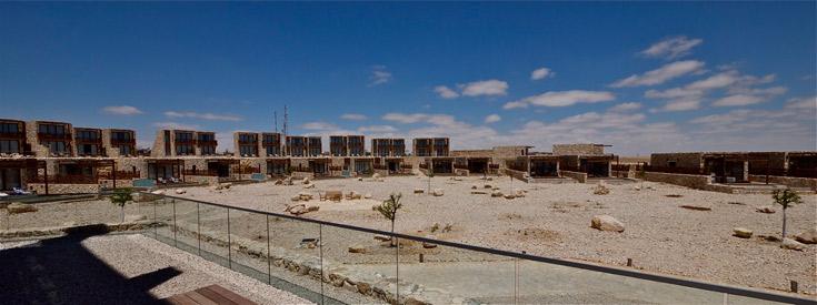 האדריכל יואל פייגין משוכנע כי המלון אינו פוגע בסביבה: ''פרויקט מינורי, רגיש ומעודן'' (צילום: איתי סיקולסקי )