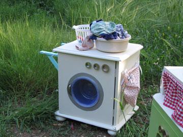 לא חייבים לשחק רק במטבח, אפשר גם מכונת כביסה (צילום: ענבר וייס )