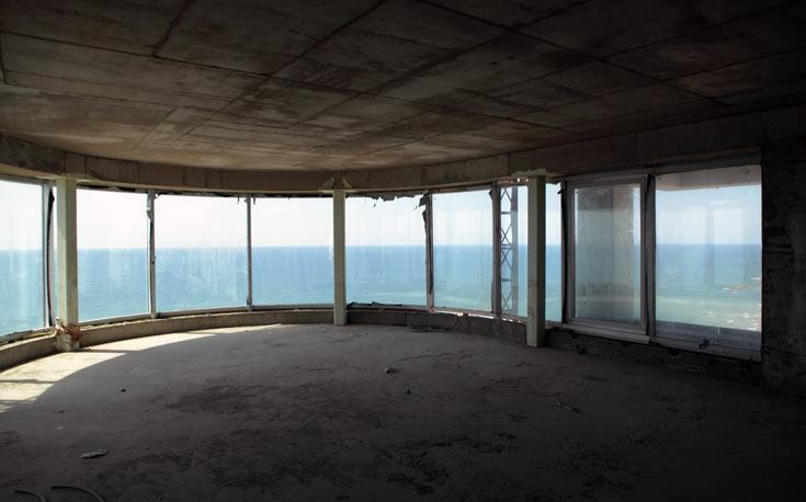 הנוף שנשקף מאחת הדירות בקומות העליונות. הרוכשים הם יהודים מחוץ לארץ (צילום: אמית הרמן)