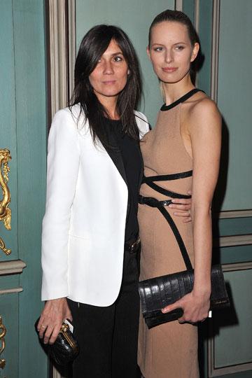 לא מושפעת מטרנדים. עמנואל אלט (משמאל) עם קרלוינה קורקובה (צילום: gettyimages)