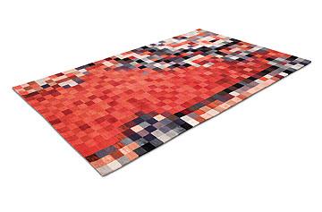 השטיח המפוקסל של פולקר אלבוס (צילום: Schwarze Elmar)