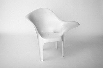 הכסא של סטפאן לנגר (צילום: Fred Bush)