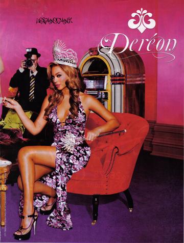 קמפיין של House of Dereon. מי רוצה להתלבש כמו ביונסה?