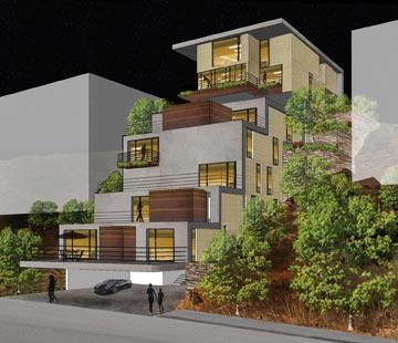 בית אליאס וגדיר. לתת ארכיטקטורה טובה לבנאדם מהרחוב (צילום: שי אפשטיין)