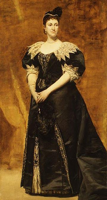 מלכה על האליטה האמריקאית. הגברת וויליאם אסטור